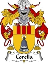 Corella Family Crest / Coat of Arms JPG or PDF Image Download - $6.99