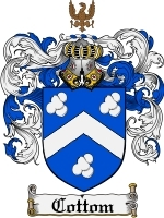 Primary image for Cottom Family Crest / Coat of Arms JPG or PDF Image Download