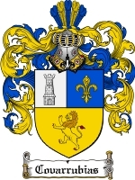 Primary image for Covarrubias Family Crest / Coat of Arms JPG or PDF Image Download