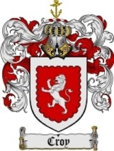 Croy Family Crest / Coat of Arms JPG or PDF Image Download - $6.99
