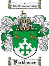 Parkhouse Family Crest / Coat of Arms JPG or PDF Image Download - $6.99