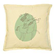 Vietsbay's Leo Sign Prints Khaki Decorative Throw Pillows Cover Case VPLC - $15.99