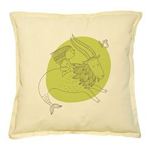 Vietsbay's Pisces Zodiac Sign 1 Prints Khaki Decorative Pillows Cover Ca... - €13,99 EUR