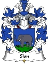 Slon Family Crest / Coat of Arms JPG or PDF Image Download - $6.99