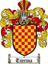 Tijerina Family Crest / Coat of Arms JPG or PDF... - $6.99