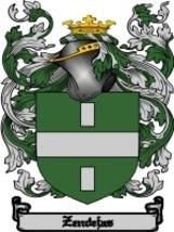 Zendejas Family Crest / Coat of Arms JPG or PDF Image Download - $6.99