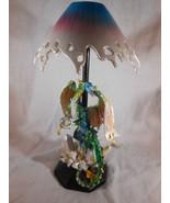 DRAGON TEALIGHT CANDLE LAMP Dragon Figurine Home Lighting Decor (#13343) - $22.00