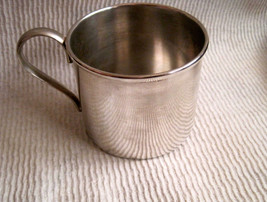 """vintage Benedict Silver plate """"baby"""" cup - $18.79"""
