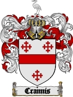 Primary image for Crannis Family Crest / Coat of Arms JPG or PDF Image Download