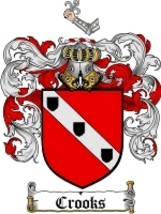 Crooks Family Crest / Coat of Arms JPG or PDF Image Download - $6.99