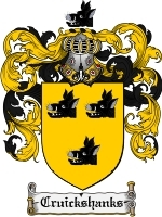 Primary image for Cruickshanks Family Crest / Coat of Arms JPG or PDF Image Download