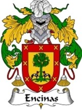 Encinas Family Crest / Coat of Arms JPG or PDF Image Download - $6.99