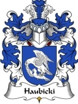Haubicki Family Crest / Coat of Arms JPG or PDF Image Download - $6.99