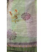 Kota doriya fabric indian decoration wedding drapes clothing women india... - $22.64