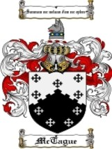 Mctague Family Crest / Coat of Arms JPG or PDF Image Download - $6.99