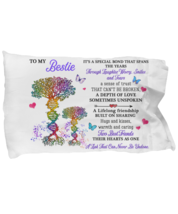 For My Bestie Pillowcase Gift Birthday Idea Pillow Cover Case  - $23.99