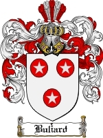 Buliard Family Crest / Coat of Arms JPG or PDF Image Download