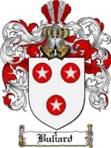Buliard Family Crest / Coat of Arms JPG or PDF Image Download - $6.99