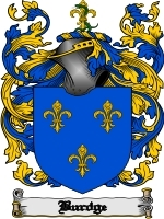 Primary image for Burdge Family Crest / Coat of Arms JPG or PDF Image Download