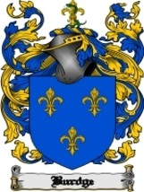 Burdge Family Crest / Coat of Arms JPG or PDF Image Download - $6.99