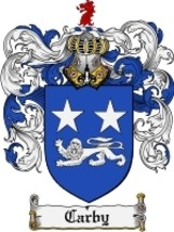 Carby Family Crest / Coat of Arms JPG or PDF Image Download - $6.99