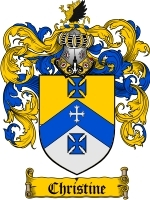 Christine coat of arms download