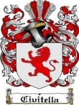 Civitella Family Crest / Coat of Arms JPG or PDF Image Download - $6.99