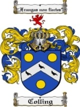 Colling Family Crest / Coat of Arms JPG or PDF Image Download - $6.99