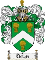 Primary image for Clowse Family Crest / Coat of Arms JPG or PDF Image Download