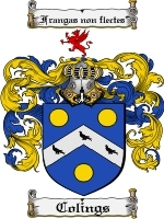 Colings Family Crest / Coat of Arms JPG or PDF Image Download