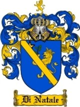 Di'Natale Family Crest / Coat of Arms JPG or PDF Image Download - $6.99