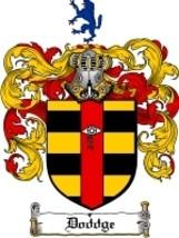 Doddge Family Crest / Coat of Arms JPG or PDF Image Download - $6.99