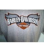 Harley-Davidson Gray Perforated T-Shirt XL Batavia, NY - $25.00