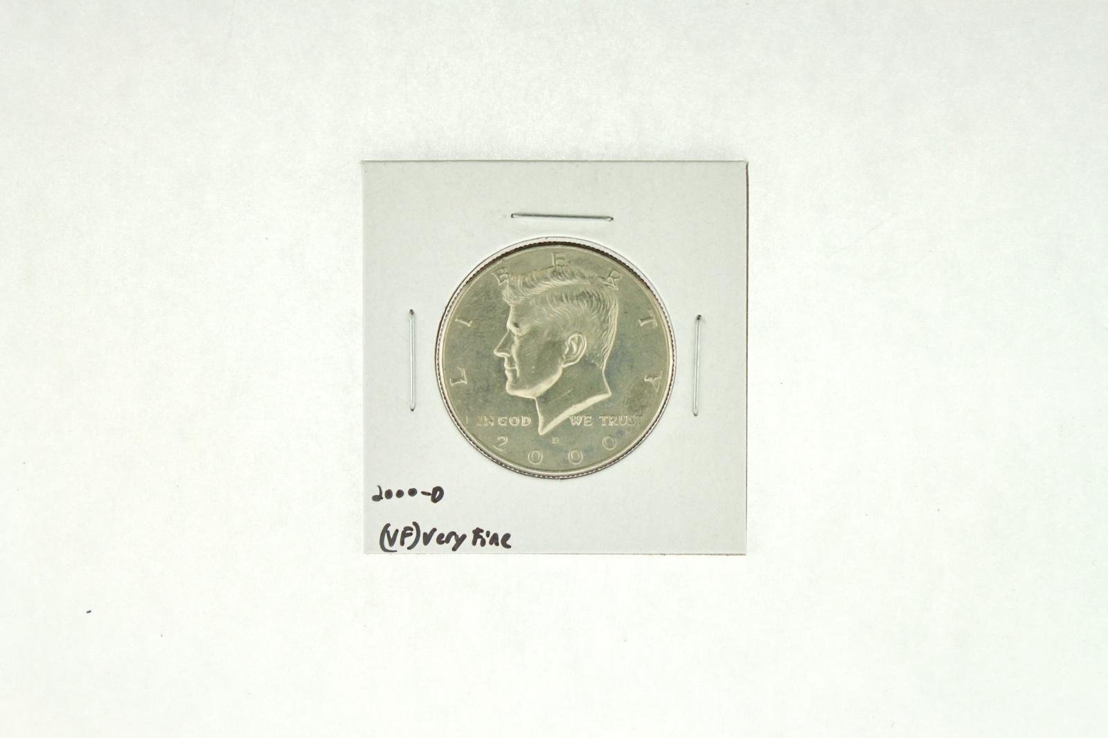 2000-D Kennedy Half Dollar (VF) Very Fine N2-4001-7