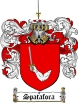Spatafora Family Crest / Coat of Arms JPG or PDF Image Download - $6.99