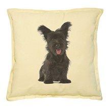 Vietsbay's Skye Terrier Puppy Prints Khaki Decorative Pillows Cover Case... - €13,99 EUR
