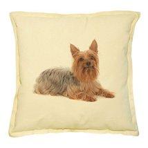 Vietsbay's Brown Silky Terrier Prints Khaki Decorative Pillows Cover Cas... - €13,99 EUR