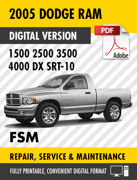 2005 dodge ram truck 1500 2500 3500 4000 dx and 50 similar items rh bonanza com Ram Logo Dodge 2005 dodge ram 2500 service manual pdf