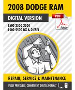 2008 Dodge Ram Truck 1500 2500 3500 4500 5500 DX Diesel Factory Repair S... - $15.00