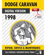 1998 Dodge/Chrysler/Plymouth Caravan Voyager Town Country Factory Repair... - $15.00