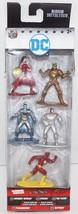 "Dc Comics 5 Figure Pack #A - Nano Metalfigs 1.65"" Mini Diecast Toy Figurine 2017 - $5.88"