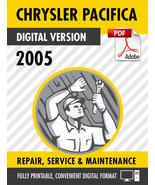 2005 Chrysler Pacifica Factory Repair Service Manual - $15.00