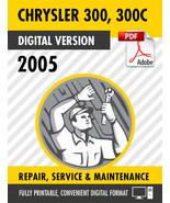 2005 Chrysler 300 300C Factory Repair Service Manual - $15.00