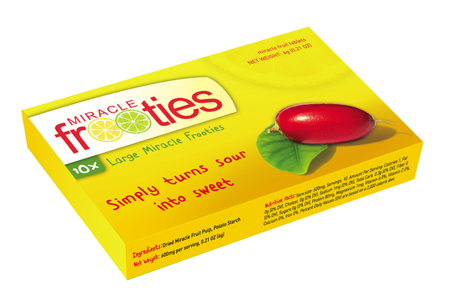 Primary image for Miraculin Miracle Frooties ISO CERT DR. OZ Miracle Fruit Berry US Au