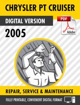 2005 Chrysler PT Cruiser Factory Repair Service Manual - $15.00