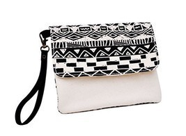 Vietsbay's Women Vintage Aztec Patterns 17 Canvas Wallet Clutch Wristlet... - €10,43 EUR