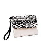 Vietsbay's Women Vintage Aztec Patterns 17 Canvas Wallet Clutch Wristlet... - €10,54 EUR