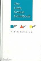 The Little,Brown Handbook-Aaron,Jane E.;Fowler, H.Ramsey;1992HC;GRAMMAR;... - $7.95