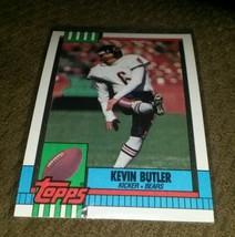 1990 Topps Kevin Butler Bears Football card nea... - $2.97
