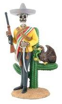 Day of The Dead Dod Emiliano Zapata Salazar Figurine - $26.39